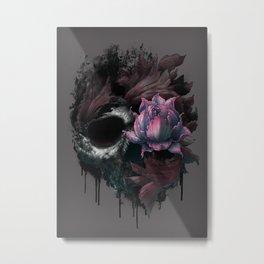 Death Blooms Metal Print