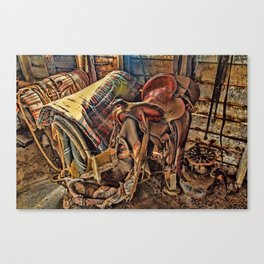 The Old Tack Room Canvas Print