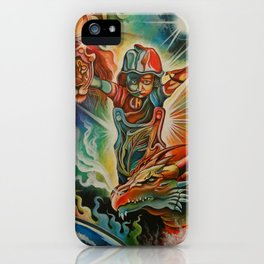 Henry the Lionheart iPhone Case