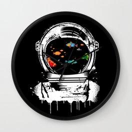 Astronaut helmet aquarium Wall Clock
