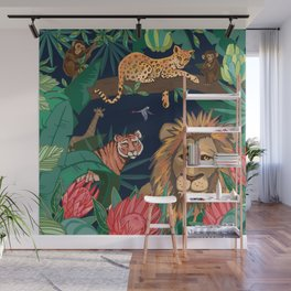 Jungle Boogie Wall Mural