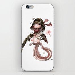 Axolotl Barbare iPhone Skin