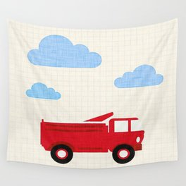 Truck Wall Tapestry