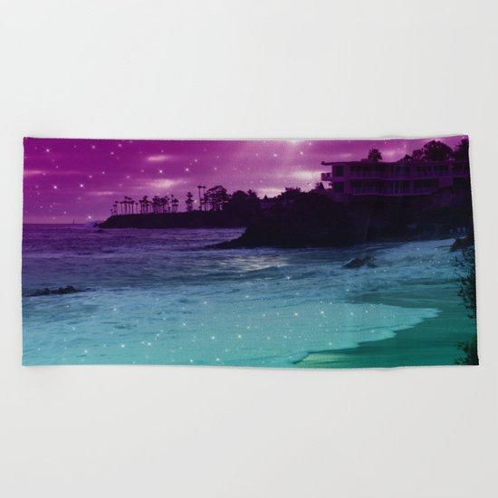 counting stars  Beach Towel