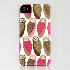 Owls iPhone (4, 4s) Slim Case