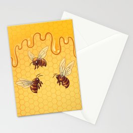 Honey and Bees Stationery Cards