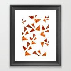 PIZZAS Framed Art Print