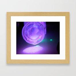 Glow #50/ Dribble Framed Art Print
