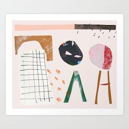 cut out play Art Print