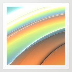 Tones Art Print