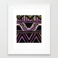 native american Framed Art Prints featuring Native American by Ben Geiger