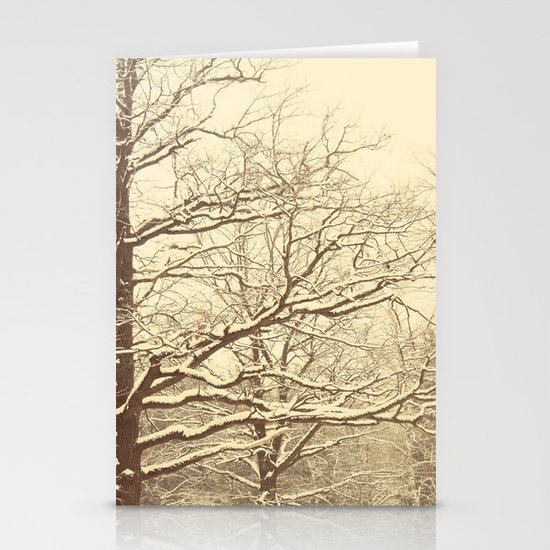 Winter tale 2 Stationery Cards
