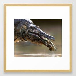 Baryonyx Framed Art Print