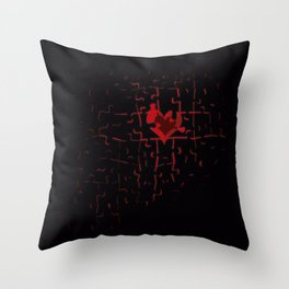 The Piece of the Life Throw Pillow