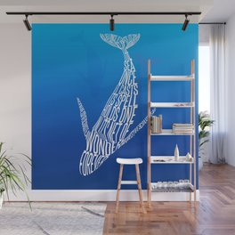 Whale song Wall Mural