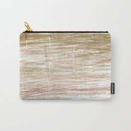 Light taupe abstract watercolor Carry-All Pouch