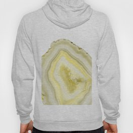 Lemon Twist Agate Dream #1 #gem #decor #art #society6 Hoody