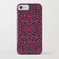 crystals iPhone & iPod Cases featuring Crystals  by Claudia Owen