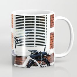 Amsterdam streets - Freight bicycles Coffee Mug
