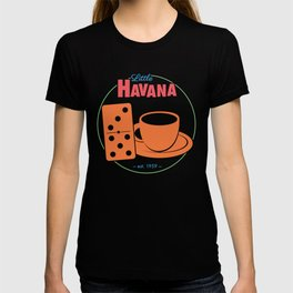 Little Havana Cuban Dominos and Cafecito T-shirt