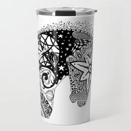 Arrow Contado - The Horse Muse Travel Mug