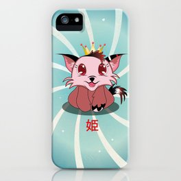 Anime Kitty - Hime iPhone Case