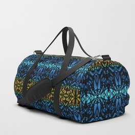 Fractal Art Stained Glass G315 Duffle Bag