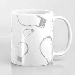 Light Bulb Silver Coffee Mug