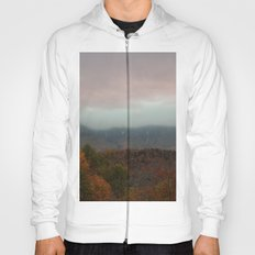 Fog Rolling Over The Hills Hoody