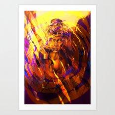 Tripping Evil Art Print