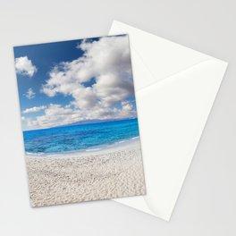 Sahara beach of Naxos island in Cyclades, Greece Stationery Cards