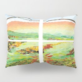 Window Pane Pillow Sham