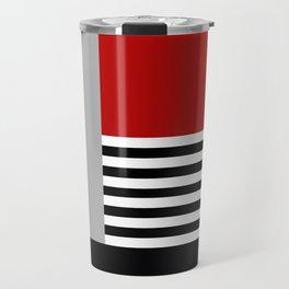 Colorful geometry 5 Travel Mug
