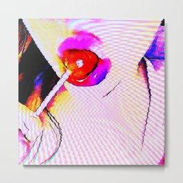 Cybernetic Sugar Metal Print