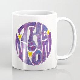 The Groovy Moon - Purple Palette Coffee Mug
