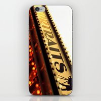 cheese iPhone & iPod Skins featuring Cheese by Rachel Landry