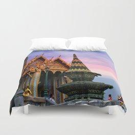 Bangkok palace III Duvet Cover