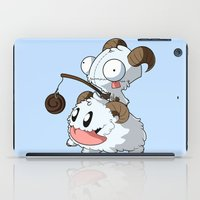invader zim iPad Cases featuring Invader Poro by HelloTwinsies