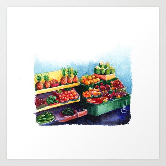 Hawaiian Sweets Art Print