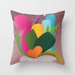 Coeur  Throw Pillow