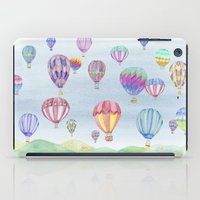 ballon iPad Cases featuring Hot Air Ballon Festival by J Square Presents