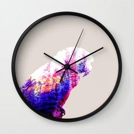 Macaw Wall Clock