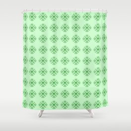 snowflake 7 For Christmas ! Shower Curtain