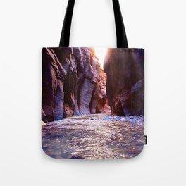 The Zion Narrows Tote Bag