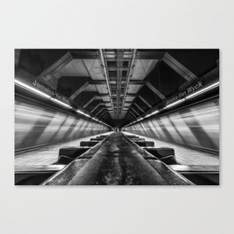 Jamaica-Van Wyck Subway Canvas Print