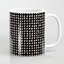 Dots (Shadowed) - White x Citrus Coffee Mug