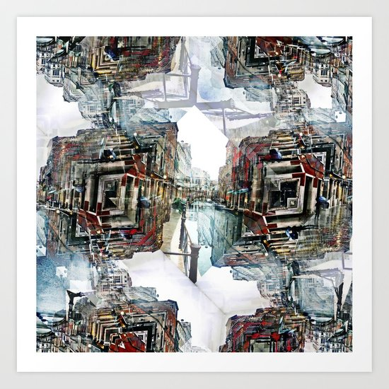 Saturday 30 March 2013: as useful as ducking puddles or jumping over rain. Art Print