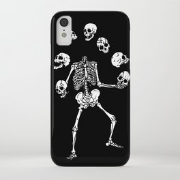 Circus of Skeleton iPhone Case