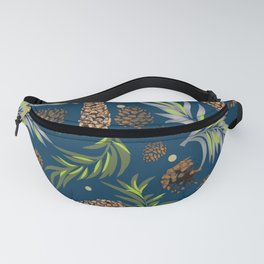 #Christmas #Pattern #Pine #Snow 10 Fanny Pack