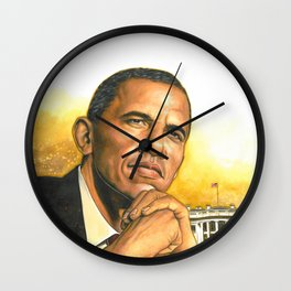 Barack Obama #2 Wall Clock
